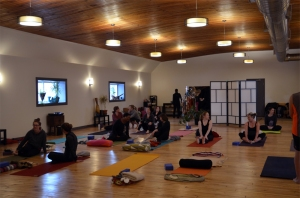Very first class in the new space! January 2015