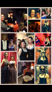 The First annual Masquerade Ball-A Formal Evening of Happy Hedonism, May 2014 at The Lighthouse Festival Theatre (photo collage by Christie)